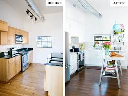 Kitchen Makeover Before And After - kitchen white makeover before and after today com