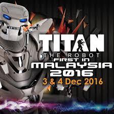titan the robot 1st showcase in malaysia cheras leisuremall