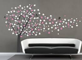 Nursery Tree Wall Decal Cherry Blossom Tree Decal Nursery Tree Decal Tree Wall Decals