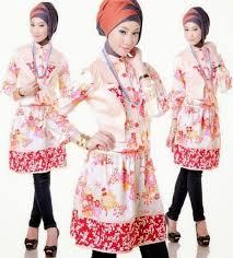 desain baju muslim remaja trendy dan populer tahun 2018