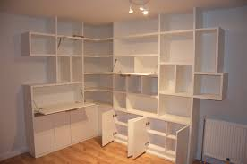 White Bookcase Cabinet by Furniture White L Shaped Corner Wall Bookcase With Multipurpose