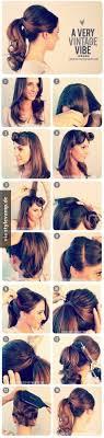 Rockabilly Frisuren Anleitung Lange Haare by Criss Cross Hairdo Makeup Anleitungen Haar Und