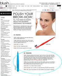 How To Trim Eyebrows Elke Von Freudenberg Eyebrow Specialist Salon Brow Products