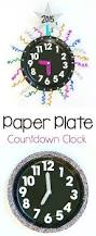 new year u0027s eve with kids countdown clock craft using paper plates