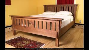 King Platform Bed Frame Plans Free by Bed Frames Farmhouse Bed Pottery Barn How To Make A King Size