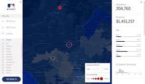 Milb Map Connor Paglia Portfolio