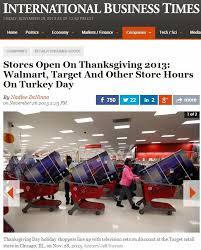 Business Open On Thanksgiving Day Shblog November 2013