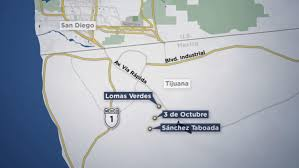 Map Of Tijuana Mexico by Homicides Climb To New Heights In Tijuana Nbc 7 San Diego