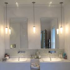 pendant lights in bathroom with awesome for lighting home depot