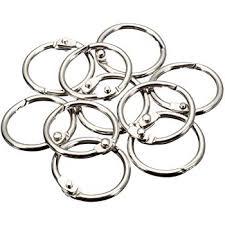 black binder rings images Charles leonard loose leaf rings with snap closure jpg