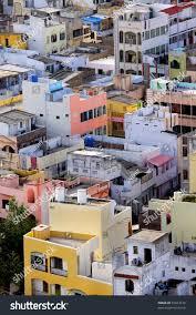 vijayawada travel guide colorful homes crowded indian city vijayawada stock photo 55813126