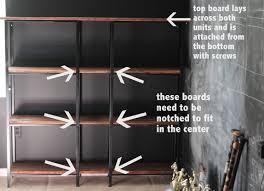 Ikea Shelf Hacks Ikea Hack Rustic Industrial Bookcase Youngest Child Shelves And