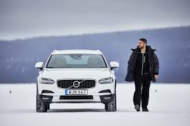 xc90 test drive volvo winter test drive in sweden smf