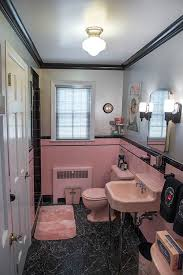retro pink bathroom ideas bathroom interior vintage retro pink and black bathroom pics of