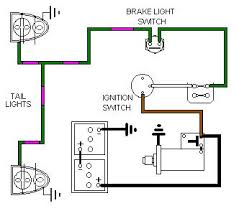 brake light switch wiring brake lights