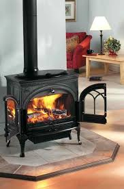 fireplace fashionable freestanding fireplace for home