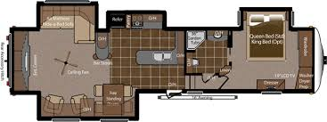 Montana Fifth Wheel Floor Plans Keystone Montana Floor Plans U2013 Gurus Floor