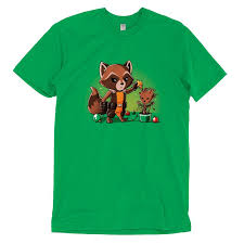 Tree Shirt Rocket Around The Tree T Shirt Official Marvel