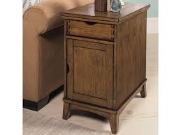 null furniture chairside table null furniture 7013 7013 22 chairside cabinet with magazine rack