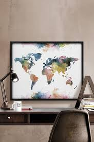 Chicago Map Wall Art by Best 25 World Map Online Ideas On Pinterest Buy Art 6s Plus