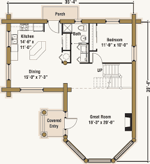 log cabin plan guesthouse log cabin plan by the log connection