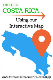 Map Costa Rica 24 Best Costa Rica Maps Images On Pinterest Costa Rica Trail