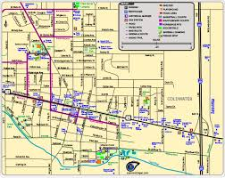 chicago map with attractions maps of parks trails attractions more in coldwater michigan