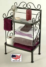Bathroom Storage Racks Grace Bathroom Storage Racks For Towels And Bath Room Tissue