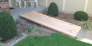 How To Build A Shed Ramp Concrete by How To Build A Wheelchair Ramp Over Stairs Google Search Via