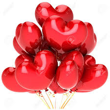 send this beautifull greeting balloons hearts balloons bunch beautiful party decoration