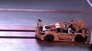 porsche lego see this lego porsche 911 explode in hilarious slo mo crash test