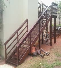timber stairs building kzn building timber stairs building