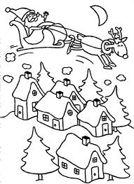 dora feels happy meet santa claus christmas night coloring