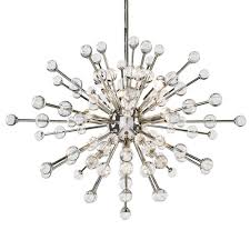 Silver Chandelier by Regina Andrew Design Lighting Constellation Chandelier Polished