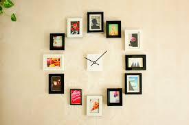 Giant Wall Clock Create A Giant Wall Clock Using Picture Frames