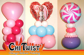 balloon centerpiece chicago area balloon centerpieces by chitwist