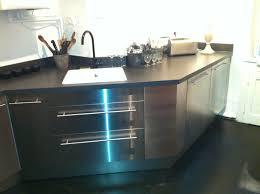 cuisine inox sur mesure cuisines cf2a création fabrication en agencement et aménagement