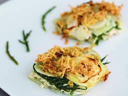 salicorne cuisine recette dauphinois revisité à la salicorne femininbio