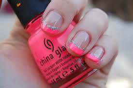 nail polish nail polish french tips for summer