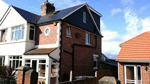 1930 u0027s semi detached house hip to cedral gable with flat roof