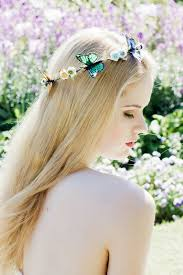 butterfly hair butterfly hair crown monarch butterfly crown rainbow butterfly