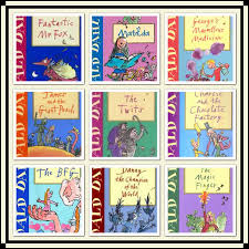 roald roll royce roald dahl books bookshelf butterfly