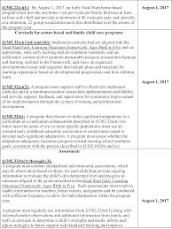 Sales And Trading Resume Federal Register Head Start Performance Standards