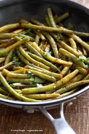 green beans recipe thanksgiving red curry green beans pad prik khing green beans vegan richa