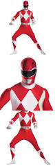halloween costumes men power ranger costumes for adults red