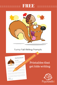 humorous thanksgiving pictures free funny fall writing prompts to get kids writing psychowith6