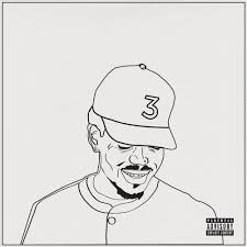 color your own chance the rapper u0027coloring book u0027 cover art