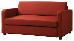 Sofa Bed Sleeper Couch Modern Convertible Flat L Type Red Fabric Adjustable Folding Sofa