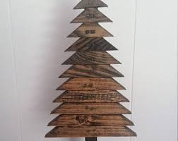 wooden christmas tree wooden christmas etsy