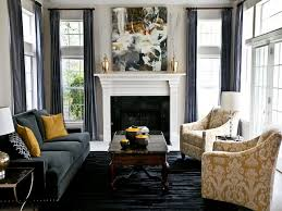 Gold Living Room Decor by Black And Gold Living Room Furniture Black Rectangle Pillows Light